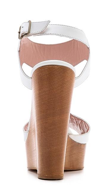 Jill Stuart Myrtle T Strap Sandals