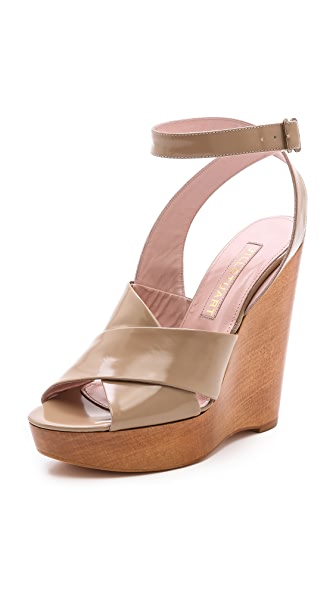 Jill Stuart Margo Cross Strap Sandals