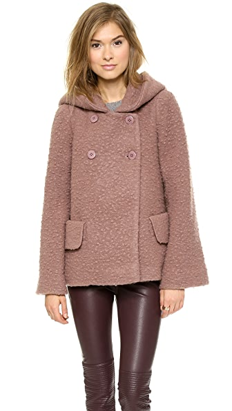 Jill Stuart Temple Wool Coat
