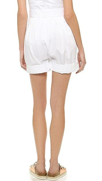 Jill Stuart Scarlett Tie Waist Shorts