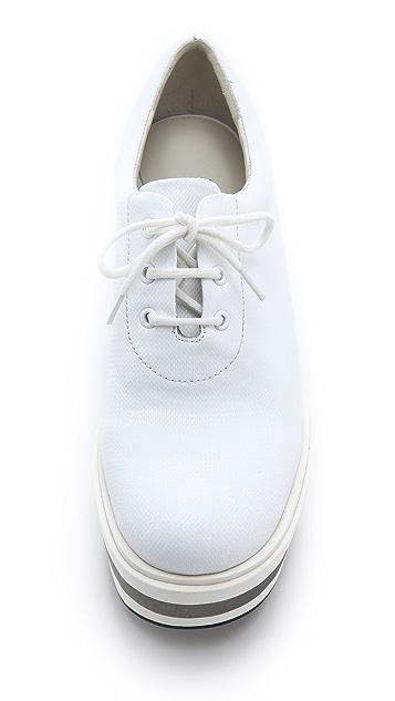 Jil Sander Navy Big Bottom Sneakers