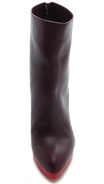 Jil Sander Wedge Booties