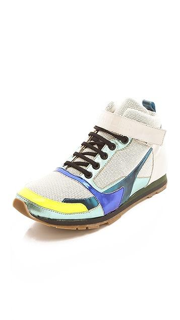 Jil Sander High Top Sneakers