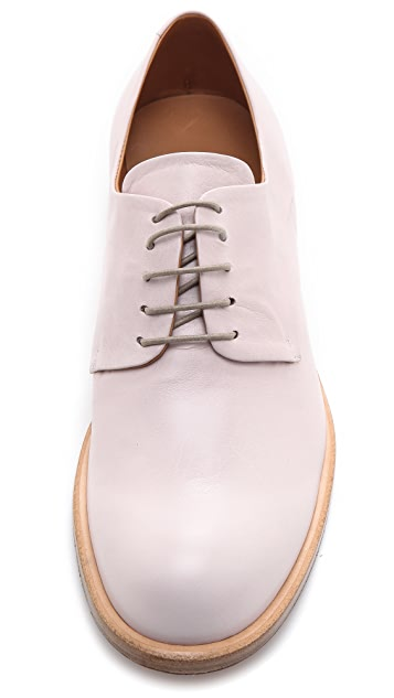 Jil Sander Leather Oxfords