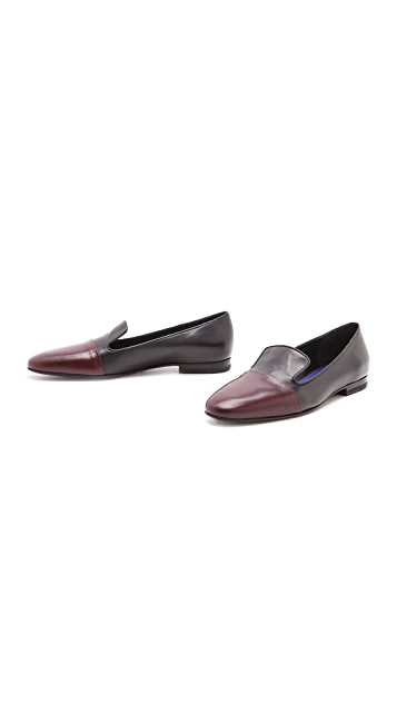 Jil Sander Two Tone Loafers