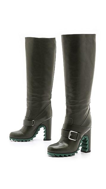 Jil Sander Blade Heel Boots
