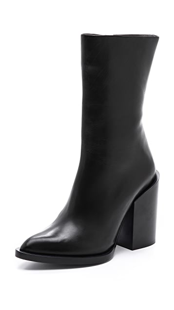 Jil Sander Side Zip Boots
