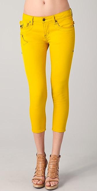 Jimmy Taverniti Bardot Capri Jeans
