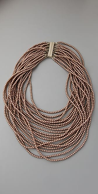 Juliet & Company Pearl Multi Strand Necklace
