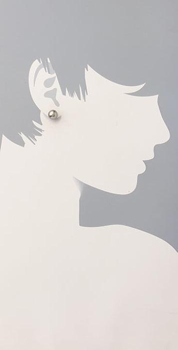 Juliet & Company Pearl Stud Earrings