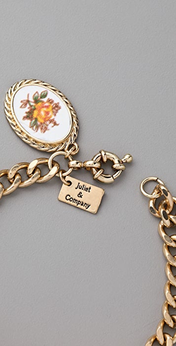 Juliet & Company Antique ID Bracelet