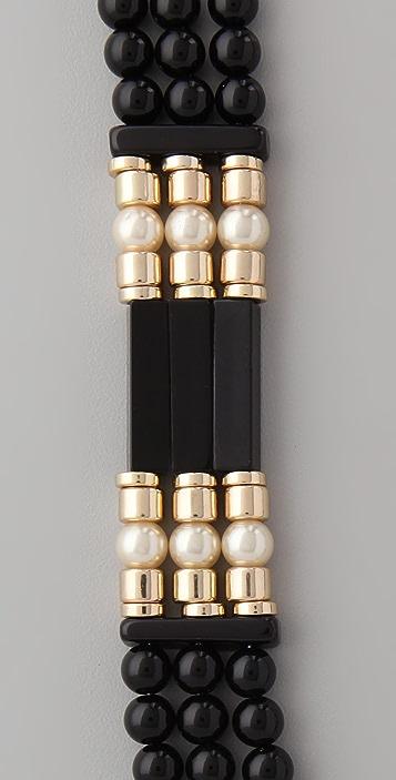 Juliet & Company Poudre Noir Necklace