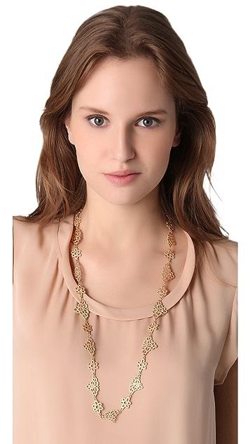 Juliet & Company Lacet en Metal Necklace
