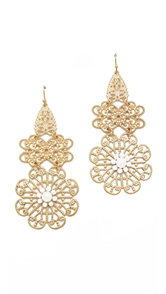 Juliet & Company Soleil Pearl Earrings