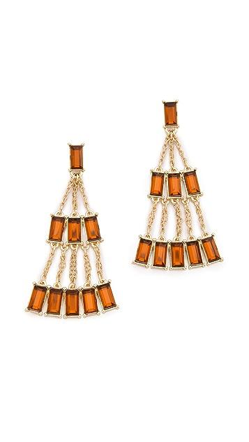 Juliet & Company Baguette Earrings