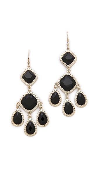 Juliet & Company Primaire Noir Earrings