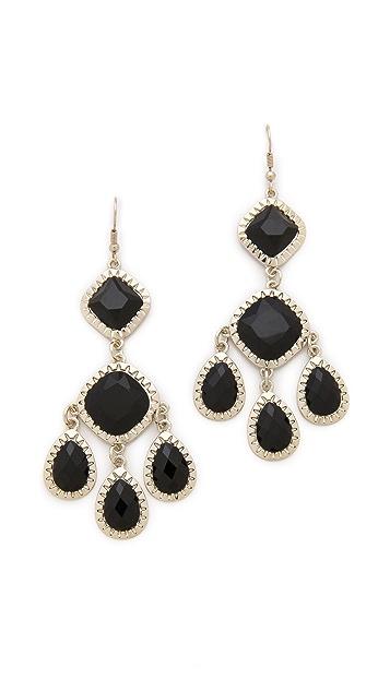 Juliet & Company Primaire Noir Earrings