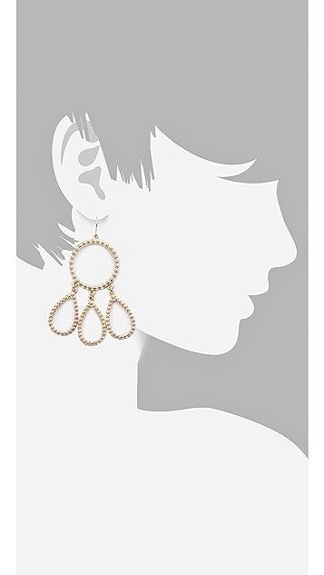 Juliet & Company Perle Chandelier Earrings
