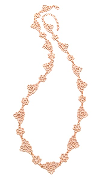 Juliet & Company Lacet en Metal Necklace
