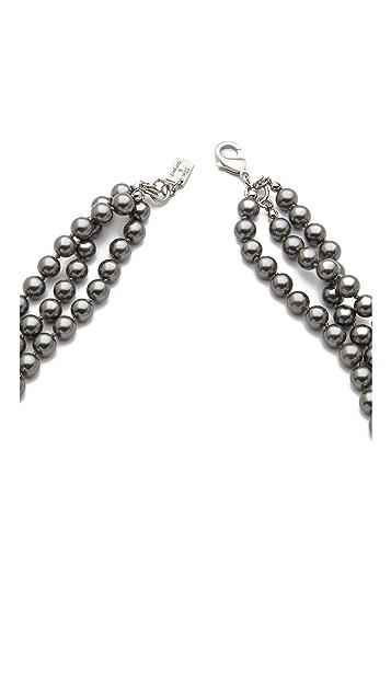 Juliet & Company Triple Strand Necklace