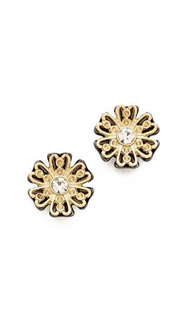 Juliet & Company Fleur De Noel Stud Earrings
