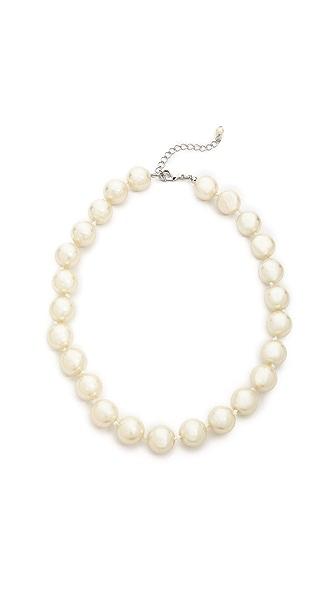 Juliet & Company Classic Imitation Pearl Choker