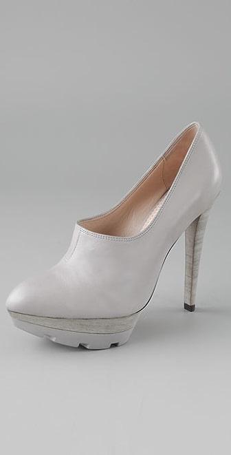 Jean-Michel Cazabat Giselle Lug Platform Heels