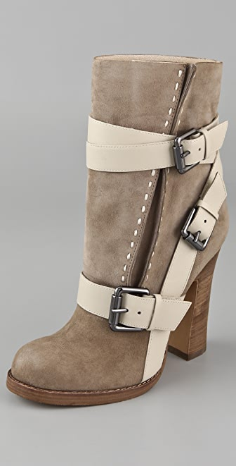 Jean-Michel Cazabat Leigh Wrap Strap Booties