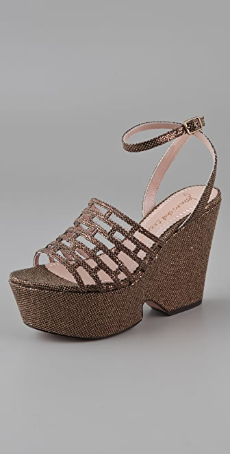 Jean-Michel Cazabat Bay Wedge Sandals