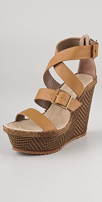Jean-Michel Cazabat Hermina Platform Wedge Sandals