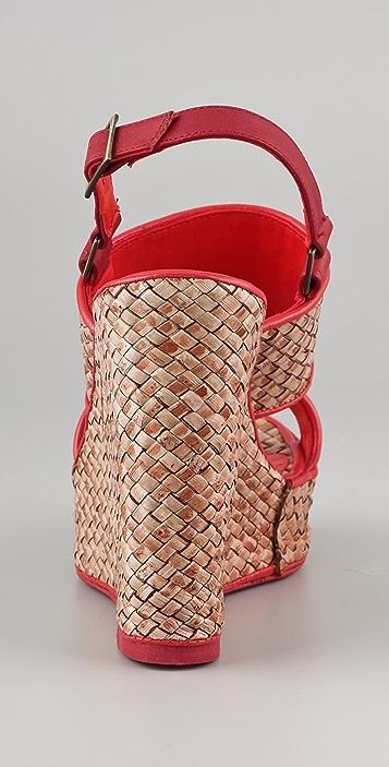 Jean-Michel Cazabat Padma Platform Wedge Sandals