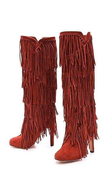 Jean-Michel Cazabat Paige Fringe Boots