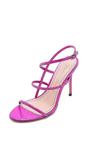 Jean-Michel Cazabat Omayra Asymmetrical Sandals