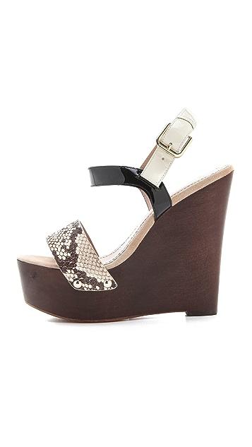 Jean-Michel Cazabat Tarika Wedge Sandals