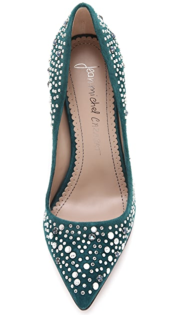 Jean-Michel Cazabat Elle Studded Pumps