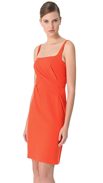 J. Mendel Draped Cocktail Dress