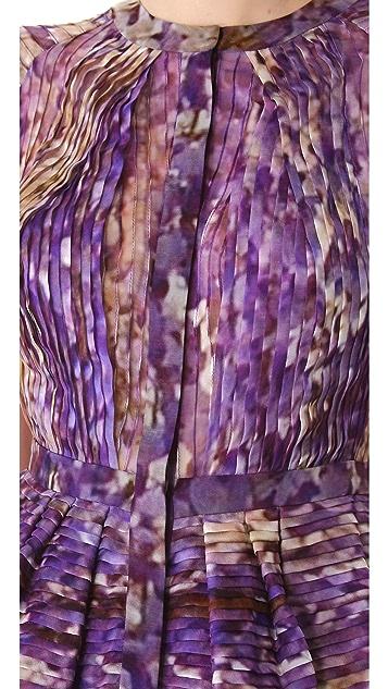 J. Mendel Sleeveless Top with Peplum