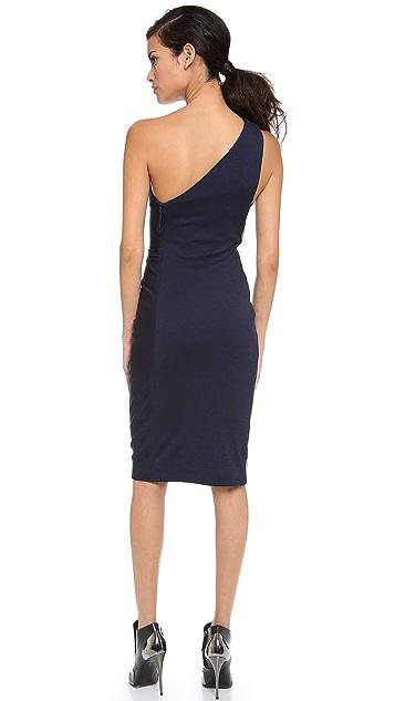 J. Mendel One Shoulder Dress