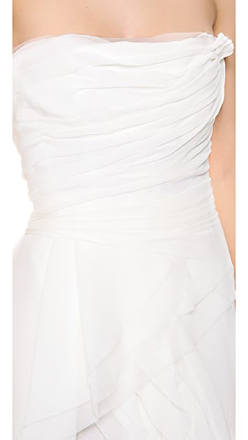 J. Mendel Melody Strapless Gown