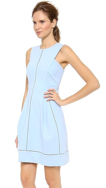 J. Mendel Sleeveless Paneled Dress