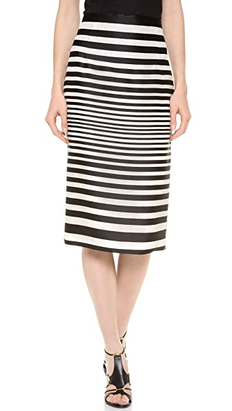 J. Mendel High Waisted Pencil Skirt