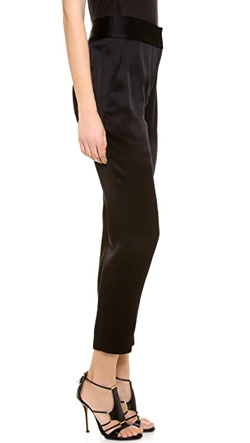 J. Mendel Slim High Waisted Pants