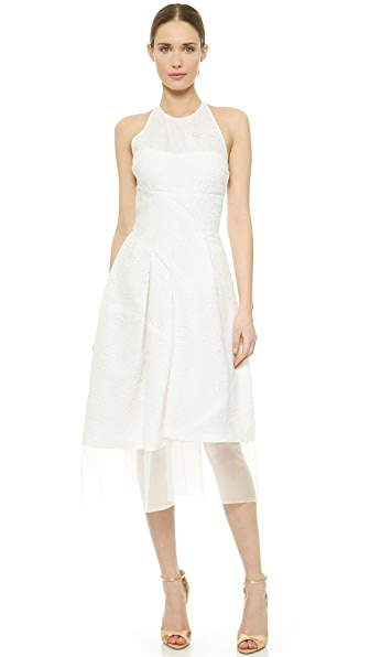 J. Mendel Fanny Halter Neck Dress