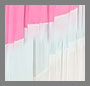 Pink/Aqua/White