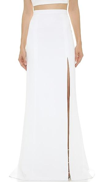 J. Mendel Floor Length Mermaid Skirt
