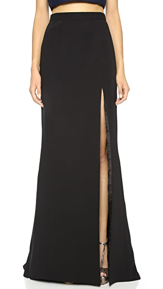 J. Mendel Skirt with High Slit Detail