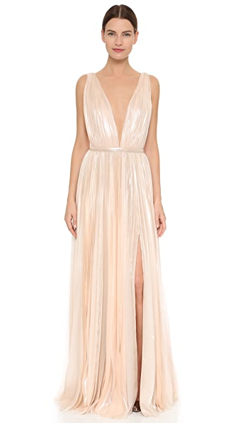 J. Mendel Kaia Gown - Champagne