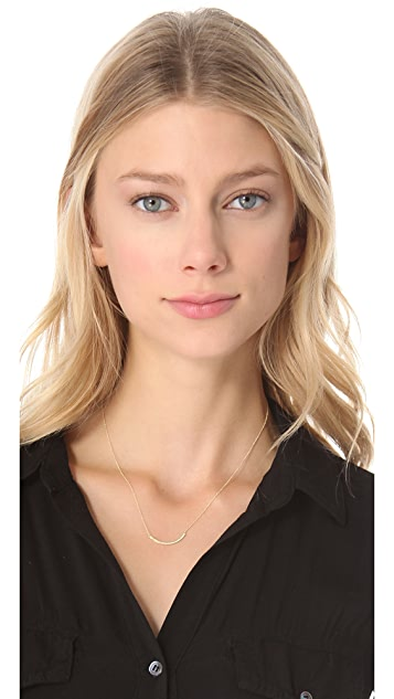 Jennifer Meyer Jewelry 18k Gold Diamond Stick Necklace