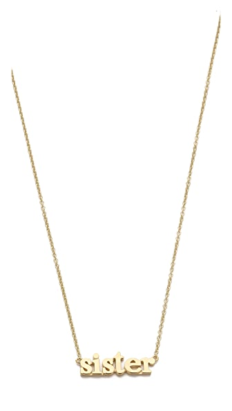 Jennifer Meyer Jewelry Sister Necklace