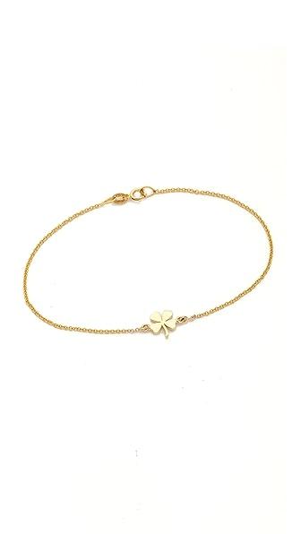 Jennifer Meyer Jewelry Mini Clover Bracelet
